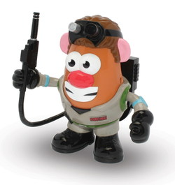 FIGURA MR POTATO GHOSTBUSTER 17 CM