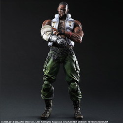 FINAL FANTASY VII ADVENT CHILDREN PLAY ARTS KAI - BARRET WALLACE