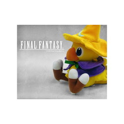 PELUCHE FINAL FANTASY CHOCOBO BLACK MAGE 15 CM