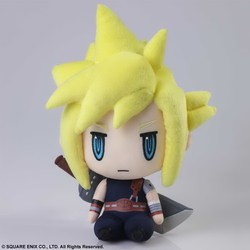 PELUCHE FINAL FANTASY VII CLOUD 23 CM