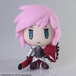 PELUCHE FINAL FANTASY XIII LIGHTNING 23 CM