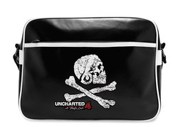 UNCHARTED - Messenger Bag - Skull - Vinyle