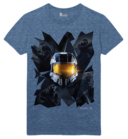 CAMISETA HALO PRISMS BLUE XL
