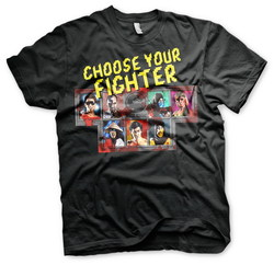 CAMISETA MORTAL KOMBAT CHOOSE YOUR FIGHTER L