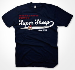 CAMISETA WORMS SUPER SHEEP VINTAGE S