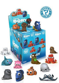 DISPLAY MYSTERY MINI FINDING DORY (12)