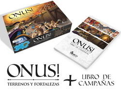 ONUS EXPANSION: TERRAIN & FORTRESSES + CAMPAIGNS BOOK (INGLES)