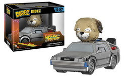 FIGURA DORBZ REGRESO AL FUTURO DELOREAN + EINSTEIN