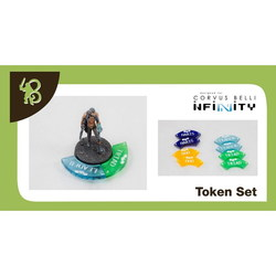 INFINITY - FIRE TEAMS TOKENS SET