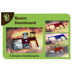 X-WING - SPACE DASHBOARD EMPIRE PACK (3)