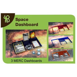 X-WING - DASHBOARD MERCENARIOS PACK (3)