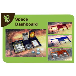 X-WING - SPACE DASHBOARD MERCS