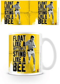 MUHAMMAD ALI AND FLOAT MUG STING