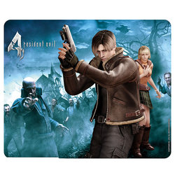 RESIDENT EVIL - MOUSEPAD - LEON & ASHLEY