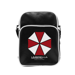 RESIDENT EVIL - MESSENGER BAG UMBRELLA CORP- VYNILE SMALL SIZE-H