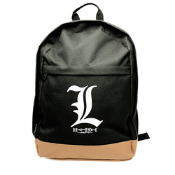 DEATH NOTE - BACKPACK L SYMBOL