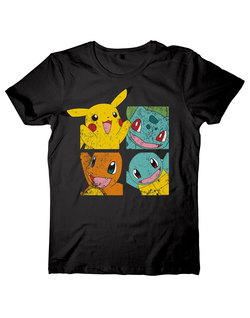 CAMISETA POKEMON AMIGOS XL