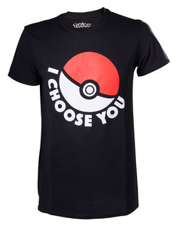 POKÉMON - I CHOOSE YOU T-SHIRT XL