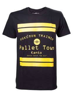 CAMISETA POKEMON PALLET TOWN XL