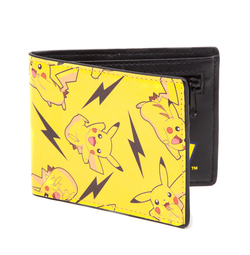 CARTERA POKEMON PIKACHU