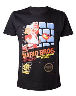 CAMISETA NINTENDO MARIO RETRO GAME M