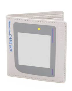 NINTENDO - GAME BOY SHAPED BIFOLD WALLET