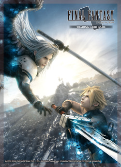 SLEEVES FINAL FANTASY TCG CLOUD VS SEPHIROTH (60)
