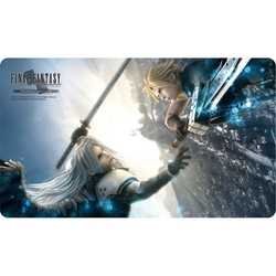 PLAYMAT FINAL FANTASY TCG LIMITED EDITION CLOUD VS SEPHIROTH