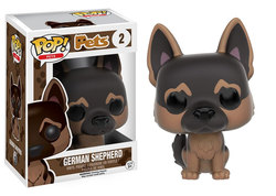 FIGURA POP PETS DOGS: GERMAN SHEPHERD
