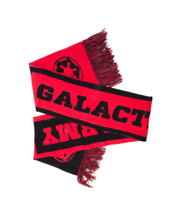 STAR WARS - GALACTIC ARMY RED AND BLACK SCARF