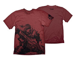 CAMISETA GEARS OF WAR 4 MARCUS FENIX XXL