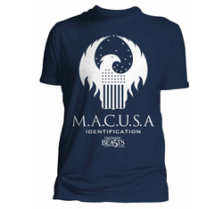 CAMISETA HARRY POTTER FANTASTIC BEASTS MACUSA XXL