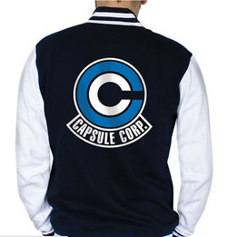 CHAQUETA DRAGON BALL CAPSULE CORP XL