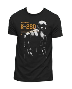 CAMISETA STAR WARS ROGUE ONE K-2SO XXL