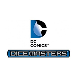 DC DICE MASTERS SUPERMAN & WONDER WOMAN STARTER