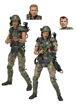 FIGURA PACK ALIENS 30TH ANIVERSARIO MARINES 18 CM