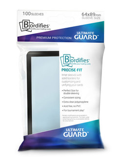 FUNDAS ULTIMATE GUARD PRECISE BORDER NEGRO (100)