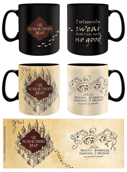 HARRY POTTER MUG MAP 460 ML *HOT*
