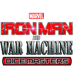 MARVEL DICE MASTERS IRON MAN & WAR MACHINE STARTER