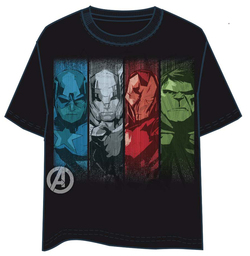 CAMISETA AVENGERS FACES XL
