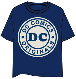 CAMISETA DC COMICS LOGO XL