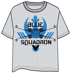CAMISETA STAR WARS ROGUE ONE BLUE SQUADRON XL