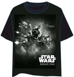 CAMISETA STAR WARS ROGUE ONE GRUPO XL
