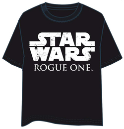 CAMISETA STAR WARS ROGUE ONE LOGO XL