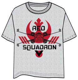 T-SHIRT STAR WARS ROGUE ONE RED SQUADRON XL