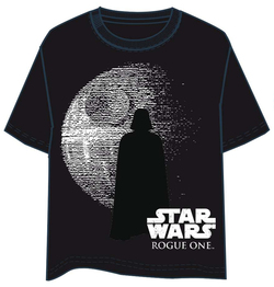 CAMISETA STAR WARS ROGUE ONE VADER AND DEATH XL