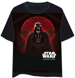 T-SHIRT STAR WARS ROGUE ONE VADER MOON S
