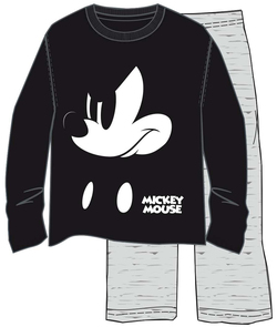 PIJAMA ML WINTER MICKEY BLACK S