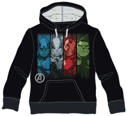 SWEATSHIRT MARVEL AVENGERS FACES XL