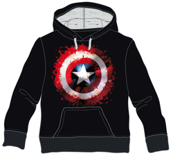 SUDADERA MARVEL CAPITAN AMERICA PAINT XL